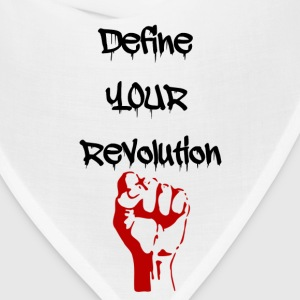 Define Your Revolution Woman's Tee - Bandana