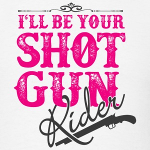 SHOT GUN RIDER - Men's T-Shirt