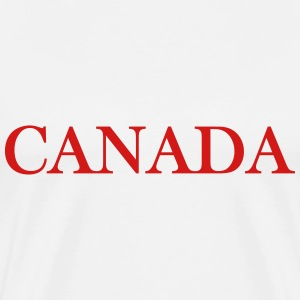 Canada design from loose goose - Men's Premium T-Shirt