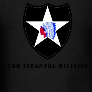 US Army 2nd Infantry Division Men's Sweat Shirt - Men's T-Shirt