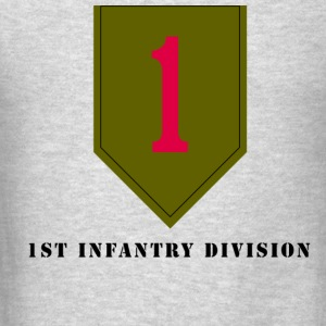 US Army 1st Infantry Division Men's Sweat Shirt - Men's T-Shirt