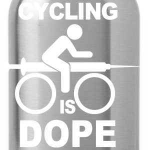 Cycling Is Dope - Water Bottle
