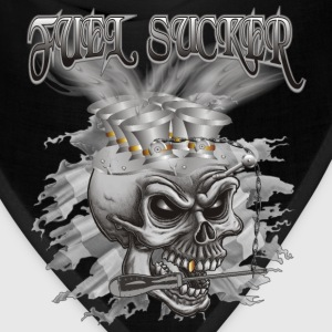 Fuel Sucker Racing Skull T-Shirts - Bandana
