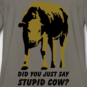 Stupid cow? Kids' Shirts - Men's Premium Long Sleeve T-Shirt