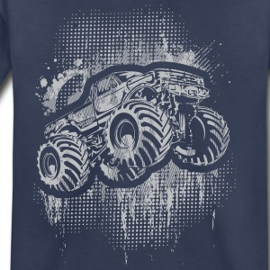 Monster 4x4 Truck grungy Kids' Shirts - Toddler Premium T-Shirt