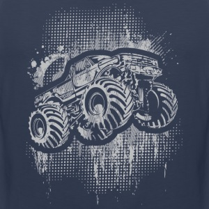 Monster 4x4 Truck grungy T-Shirts - Men's Premium Tank