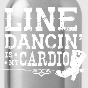 Line Dancing is my Cardio - Water Bottle