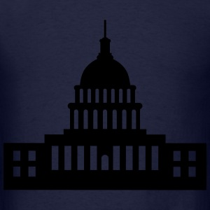 United States Capitol, Capitol Long Sleeve Shirts - Men's T-Shirt