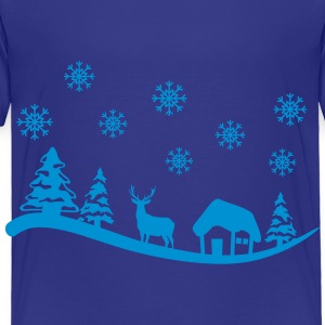 Winter Landscape Kids' Shirts - Toddler Premium T-Shirt