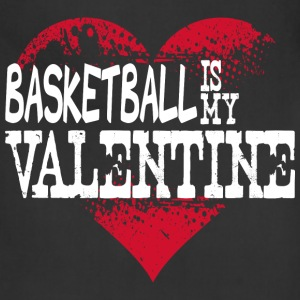 Basketball Is My Valentine Bags & backpacks - Adjustable Apron
