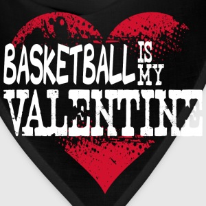 Basketball Is My Valentine Long Sleeve Shirts - Bandana