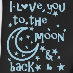 I love you to the moon and back Women's T-Shirt - Leggings