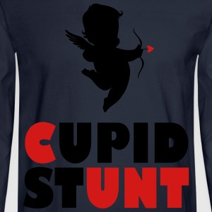 Cupid Stunt - Men's Long Sleeve T-Shirt