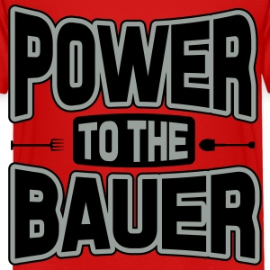 Power to the Bauer Kids' Shirts - Toddler Premium T-Shirt