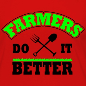 farmers do it better Kids' Shirts - Women's Premium Long Sleeve T-Shirt
