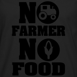 no farmer no food Women's T-Shirts - Men's Premium Long Sleeve T-Shirt
