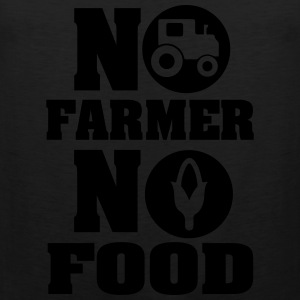 no farmer no food Women's T-Shirts - Men's Premium Tank