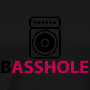 Basshole - Asshole Tanks - Men's Premium T-Shirt