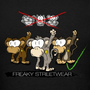 protest monkeys Hoodies - Men's T-Shirt