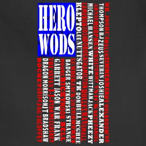 CrossFit Hero WOD Flag Tanks - Adjustable Apron