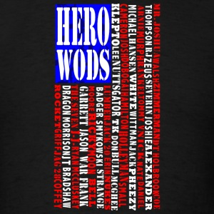 CrossFit Hero WOD Flag Tanks - Men's T-Shirt