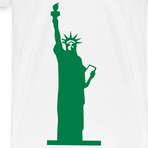 Statue of Liberty, Lady Liberty Tanks - Men's Premium T-Shirt