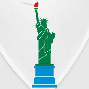 Statue of Liberty, Lady Liberty Polo Shirts - Bandana