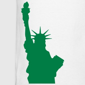 Statue of Liberty, Lady Liberty Long Sleeve Shirts - Men's T-Shirt