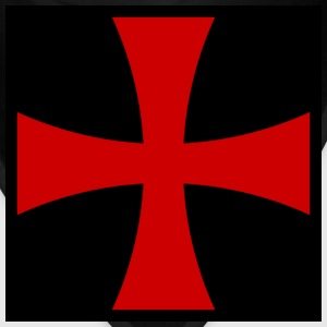 Knights_Templar_Cross T-Shirts - Bandana