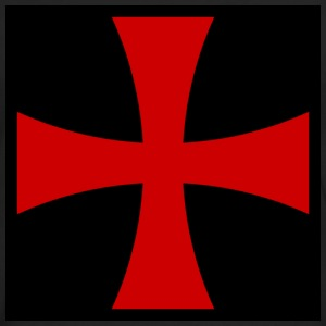 Knights_Templar_Cross T-Shirts - Men's Premium Long Sleeve T-Shirt