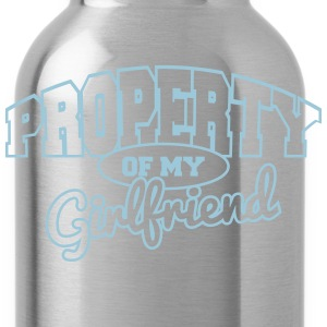 Property of my girlfriend T-Shirts - Water Bottle