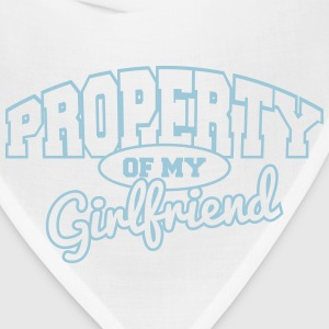 Property of my girlfriend T-Shirts - Bandana