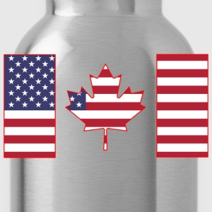 Maple Leaf from Stars and Stripes - Water Bottle