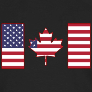 Maple Leaf from Stars and Stripes - Men's Premium Long Sleeve T-Shirt