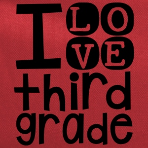 I Love 3rd Grade T Shirt - Computer Backpack