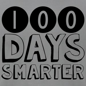 100 Days Smarter Shirt - Men's T-Shirt by American Apparel