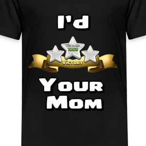 Clash of Clans Three Star Your Mom - Toddler Premium T-Shirt
