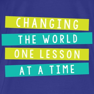 Change the World Tote - Men's Premium T-Shirt