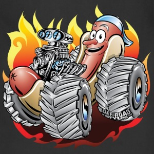 Hot Dog Monster Truck 1 T-Shirts - Adjustable Apron
