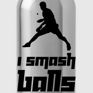 I smash balls (Vector) - Water Bottle