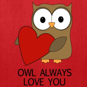 OWL ALWAYS LOVE YOU TSHIRT - Tote Bag
