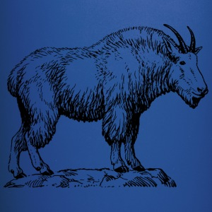 mountain goat - Full Color Mug