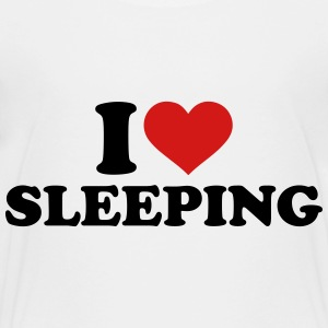 I love sleeping Kids' Shirts - Toddler Premium T-Shirt