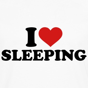 I love sleeping T-Shirts - Men's Premium Long Sleeve T-Shirt