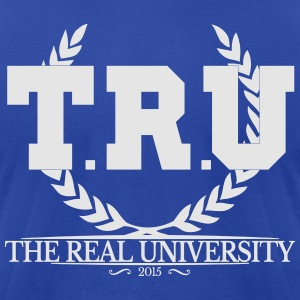 TRU Hoodies - Men's T-Shirt by American Apparel