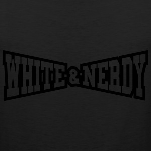 White & Nerdy - Men's Premium Tank