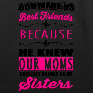 God made us best friends - BFF Kids' Shirts - Eco-Friendly Cotton Tote