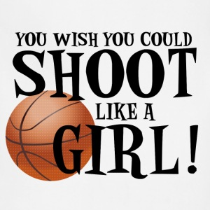 Shoot Like a Girl T-Shirts - Adjustable Apron