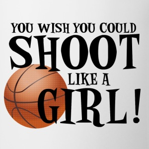 Shoot Like a Girl T-Shirts - Coffee/Tea Mug