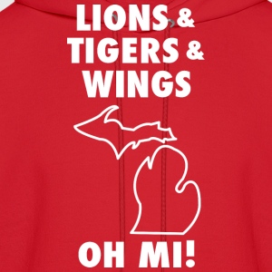LIONS & TIGERS & WINGS, OH MI! Women's T-Shirts - Men's Hoodie